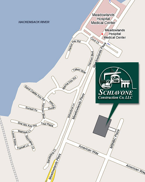 Schiavone Construction Co LLC- Map and Directions
