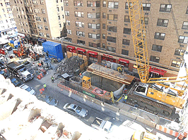 Schiavone Construction Project- 72nd Street Station